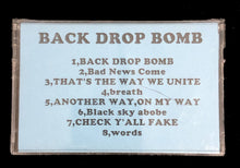 Vintage Back Drop Bomb Demo Tape