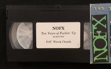 "Vintage NOFX ""Ten Years of Fucking Up"" VHS Tape"