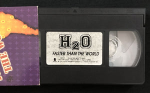 "Vintage H2O ""Faster Than The World"" VHS Tape"