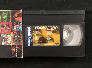 Vintage Rock Video Monthly VHS Tape, May 1995