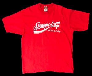 "Vintage Straight Edge ""Can't Beat the Feeling"" T-Shirt"