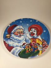 1997 McDonald's Ronald and Santa Christmas Plate