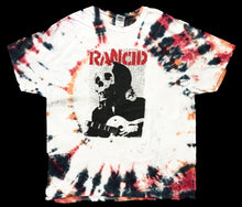 "Rancid ""Skull"" Custom Tie Dyed T-Shirt"