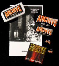 The Archive Multimedia USB/Zine/Sticker Pack