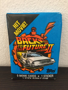 Back to the Future Part 2 Trading Cards