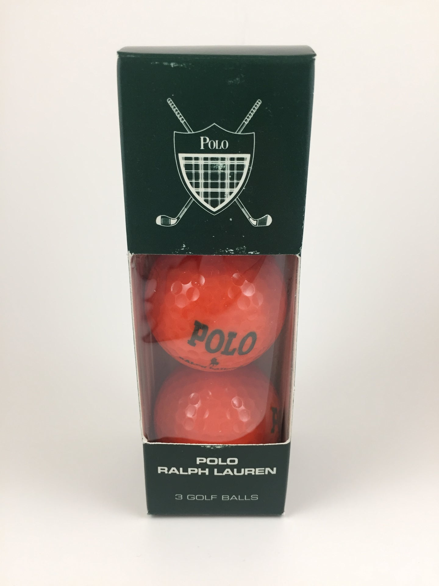 Vintage Polo Ralph Lauren Golf Balls (Set of 3)