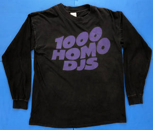 Vintage 1000 Homo DJs Long Sleeve T-Shirt