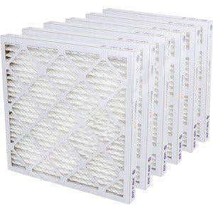 20x22x1 MERV 6 - 6 PK - Premium Furnace & AC Air Filters
