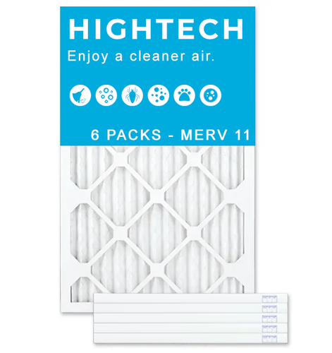 14x20x2 MERV 11 - 6 PK - Ultra Allergen Furnace & AC Air Filters