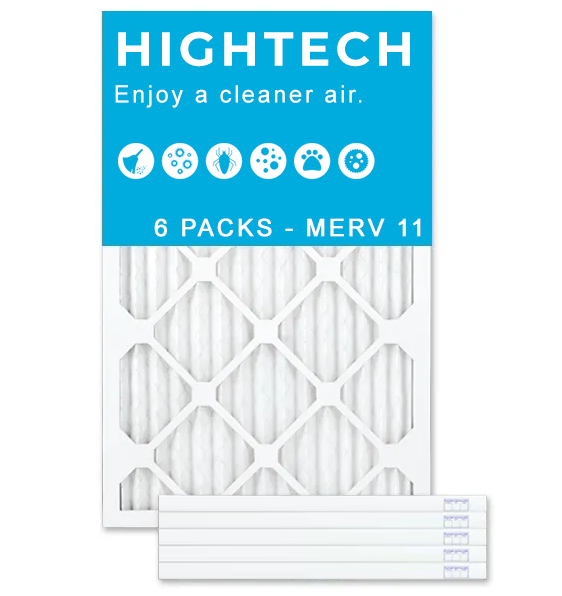 14x24x2 MERV 11 - 6 PK - Ultra Allergen Furnace & AC Air Filters