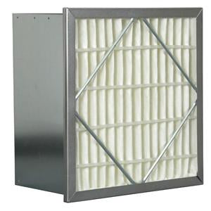 "12"" x 24"" x 6 95% With Header Rigid Filter Commercial Rigid Box Filter"