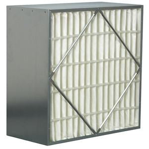 "24"" x 24"" x 6 95% No Header Rigid Filter Commercial Rigid Box Filter"
