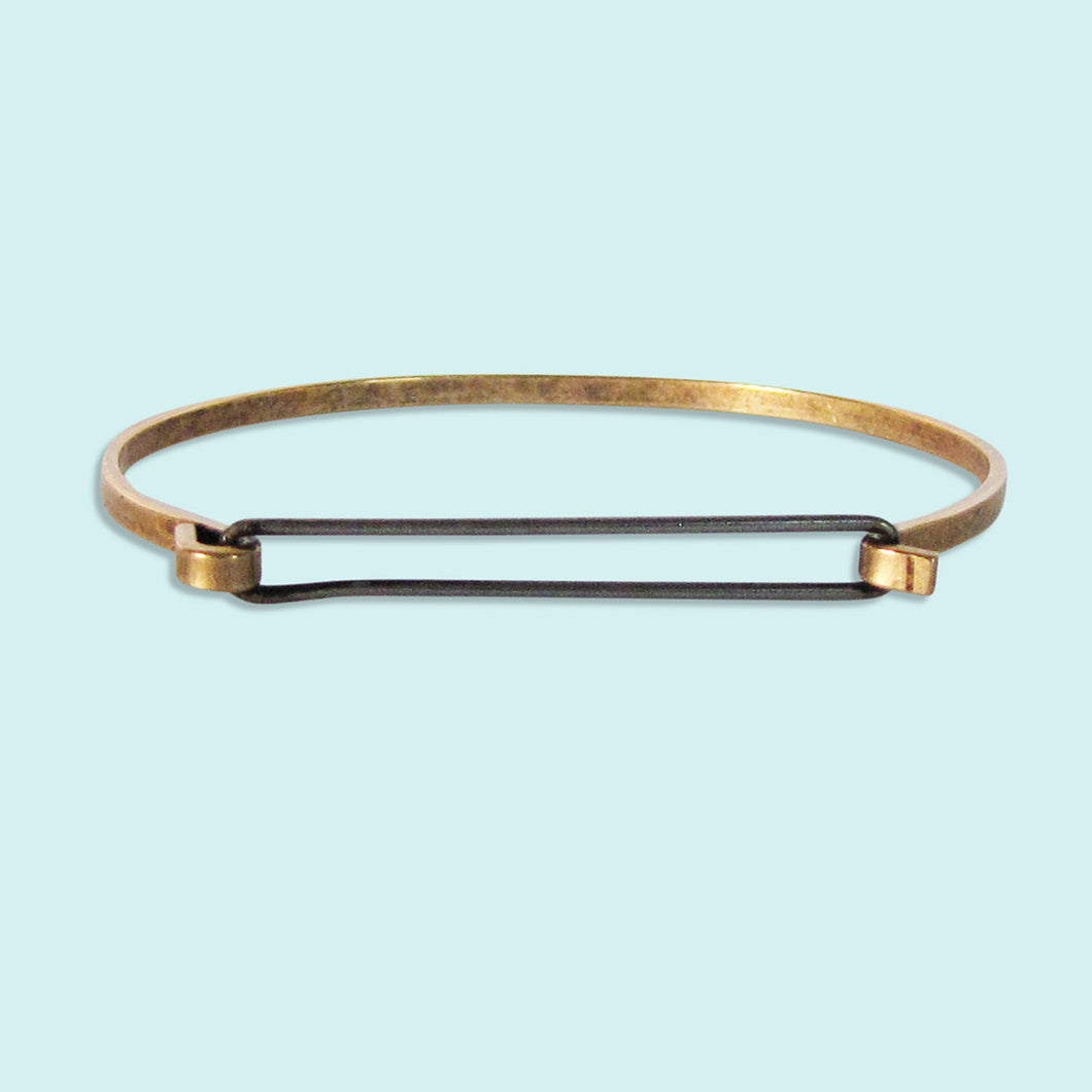 Steel Swing Top Bracelet