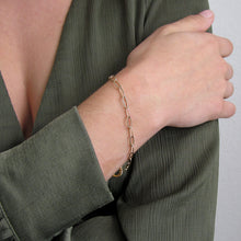 Load image into Gallery viewer, Gold Filled Chain Bracelet