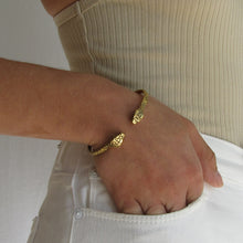 Load image into Gallery viewer, Snake Cuff Bracelet