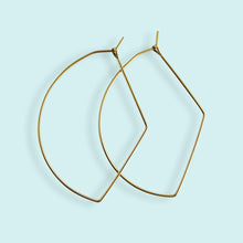 Load image into Gallery viewer, Bow Hoop Earrings
