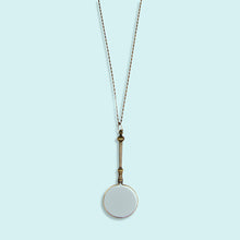 Load image into Gallery viewer, Ornate Magnifying Glass Necklace