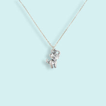 Load image into Gallery viewer, Silver Elephant Necklace