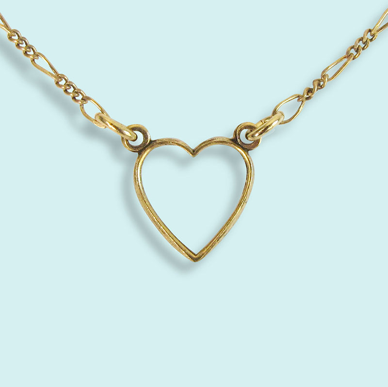 Little Gold Heart Necklace