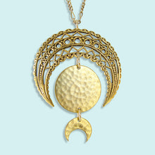 Load image into Gallery viewer, Moon Phase Necklace