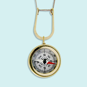 Lucky Compass Necklace