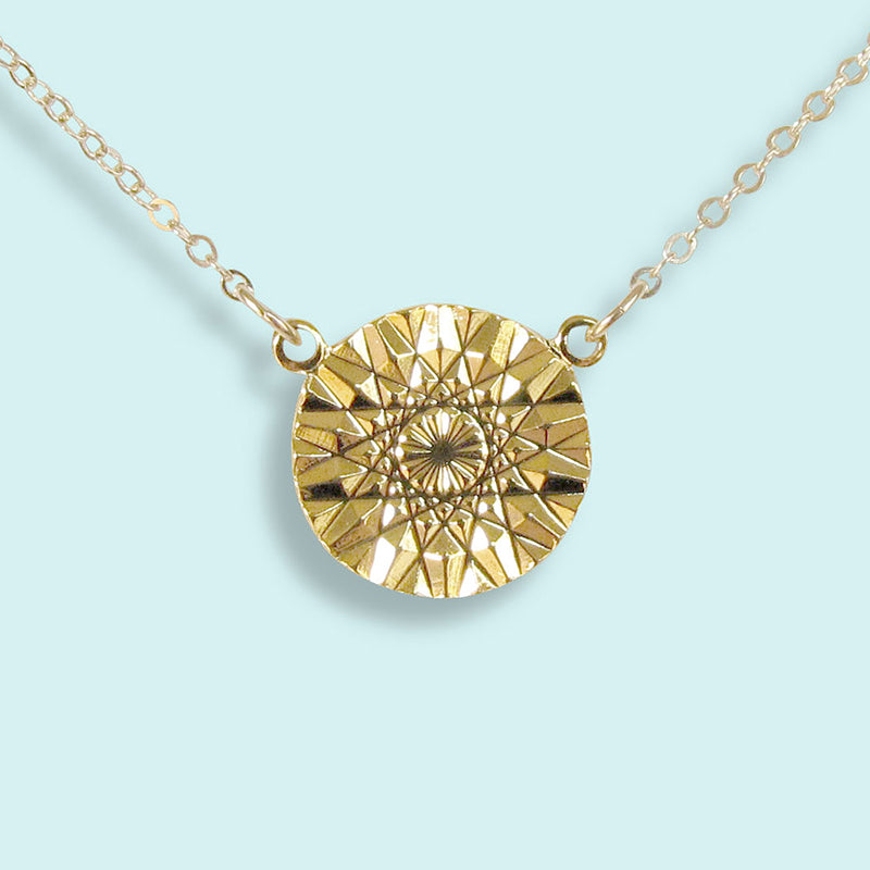 Sun Facets Necklace