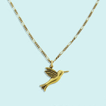 Load image into Gallery viewer, Gold Hummingbird Necklace