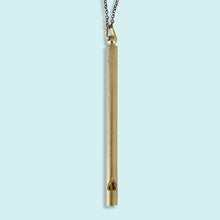 Load image into Gallery viewer, Long Whistle Necklace