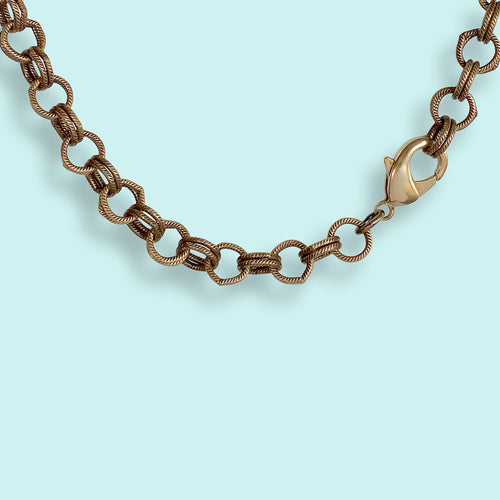 Double Loop Chain Necklace
