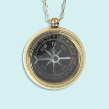 Load image into Gallery viewer, Trailblazer Compass Necklace