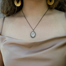 Load image into Gallery viewer, Vote Necklace on Long Oval