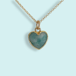 Heart of Stone Amazonite Necklace