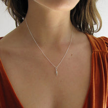 Load image into Gallery viewer, Sterling Silver Lightning Necklace