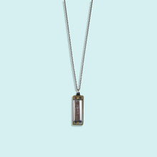 Load image into Gallery viewer, Silver Harmonica Necklace