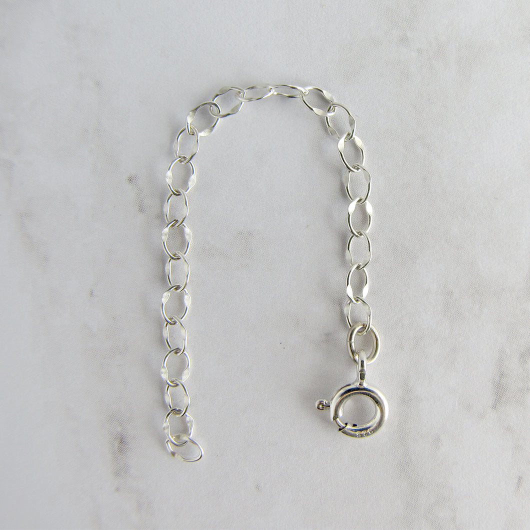 Sterling Silver 3 Inch Extender Chain