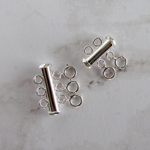 Sterling Silver Layering Detangler Clasp