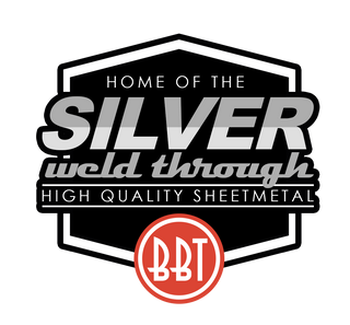 BBT silver weld through panels BBT4VW