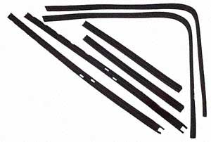 Split Screen 1952 to 62 Front door seal kit (2 x doors)