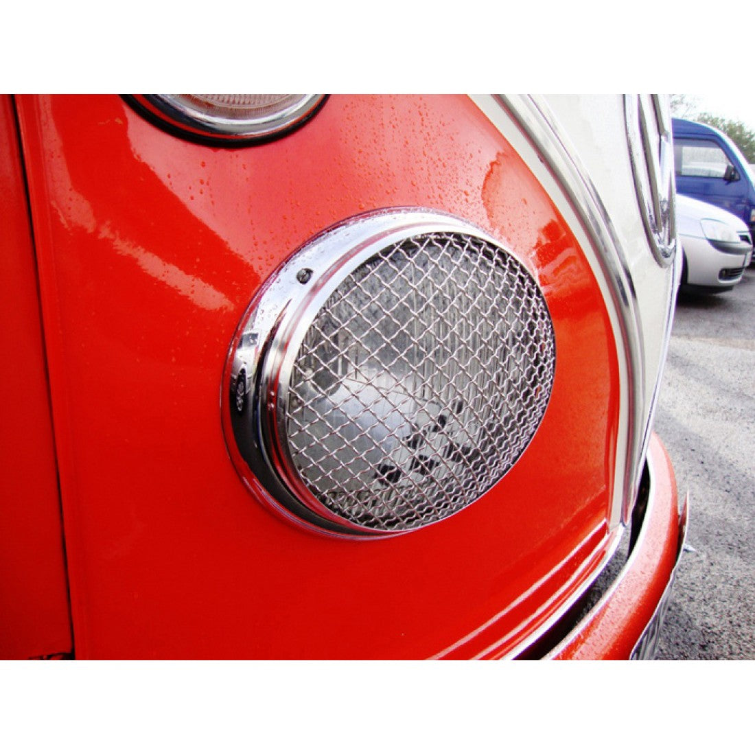 www.aircooledaccessories.com stainless headlight protectors AAC003