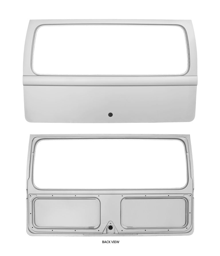 rear hatch, kombi rear hatch, splitscreen rear hatch