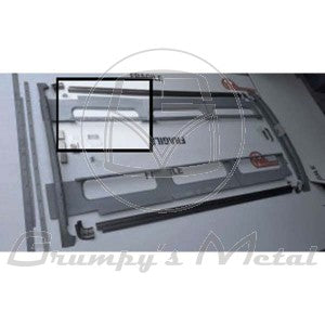 VW Kombi split screen inner sky window