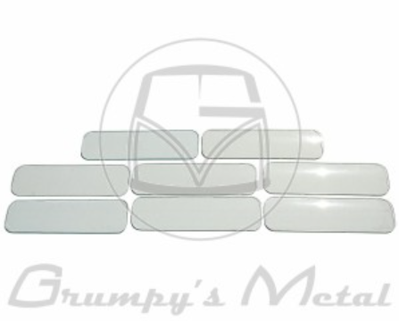 VW Kombi window glass set