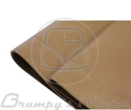VW Kombi canvas sunroof cover