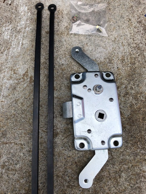 Split Screen Bus 1963 - 1967 Cargo Door Lock and Rods (Right Door on RHD Bus)