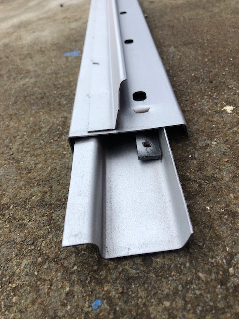 Split Screen Bus 1955 - 1963 Rear Gutter and Tail Gate Hinge Carrier