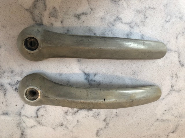Splitscreen cargo door handles (Pair) grey