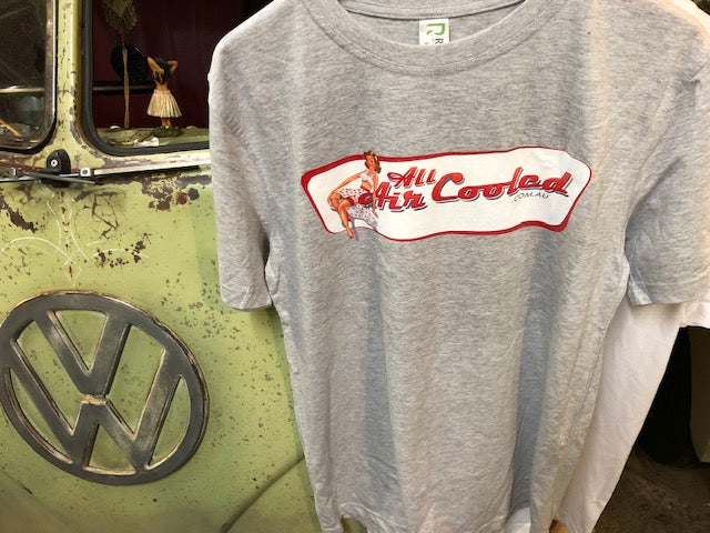 All Air Cooled T-Shirt (grey) medium, large or XL