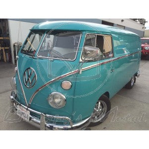 VW Kombi belt mouldings