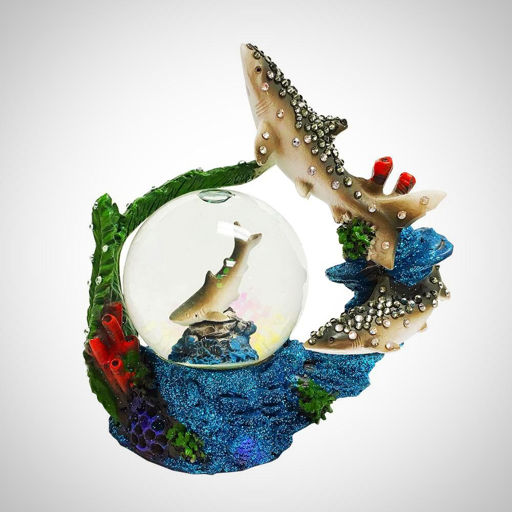 MINI SNOW GLOBE-MARINE LIFE - Jimmy Crystal New York