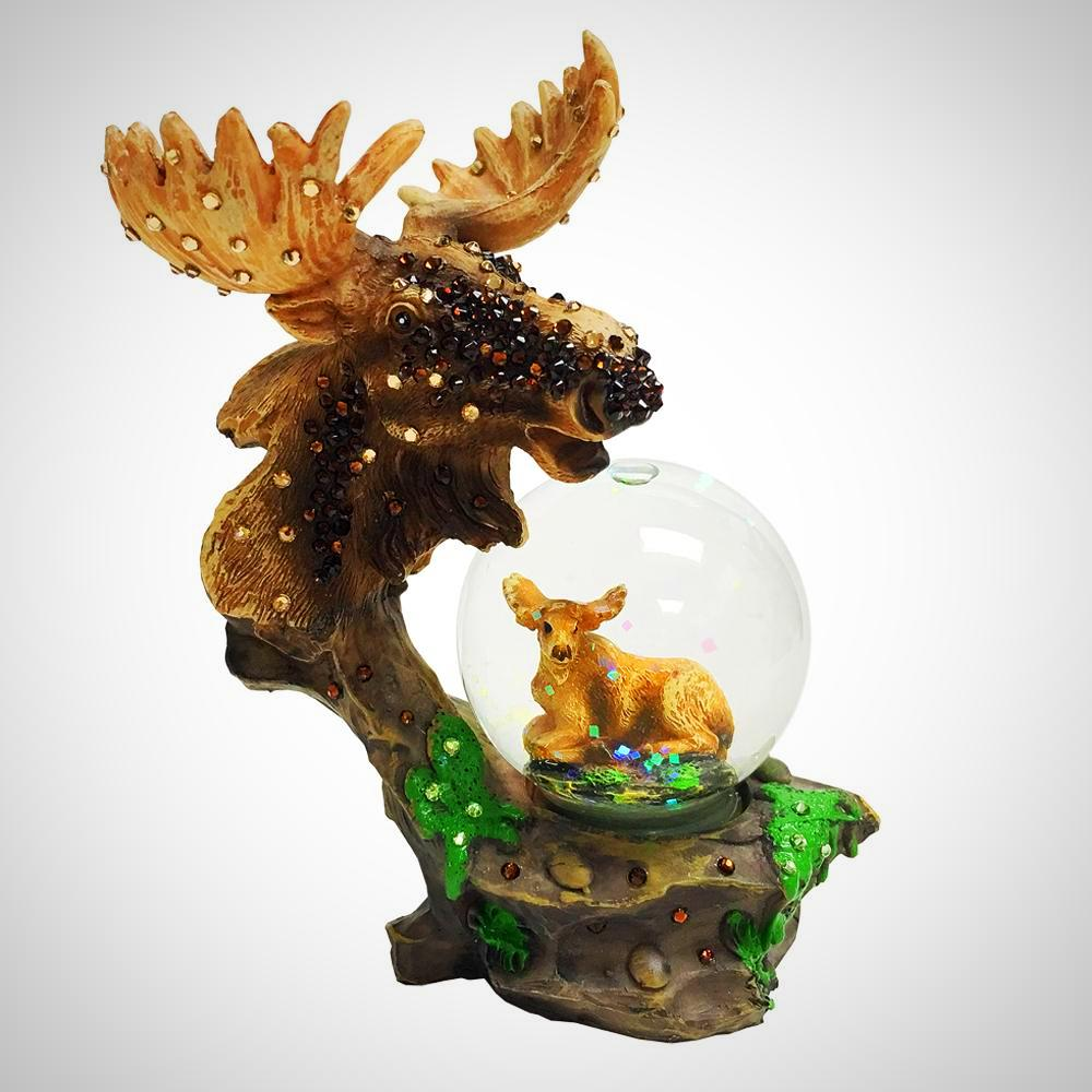 MINI SNOW GLOBE-ANIMALS IN AMERICA
